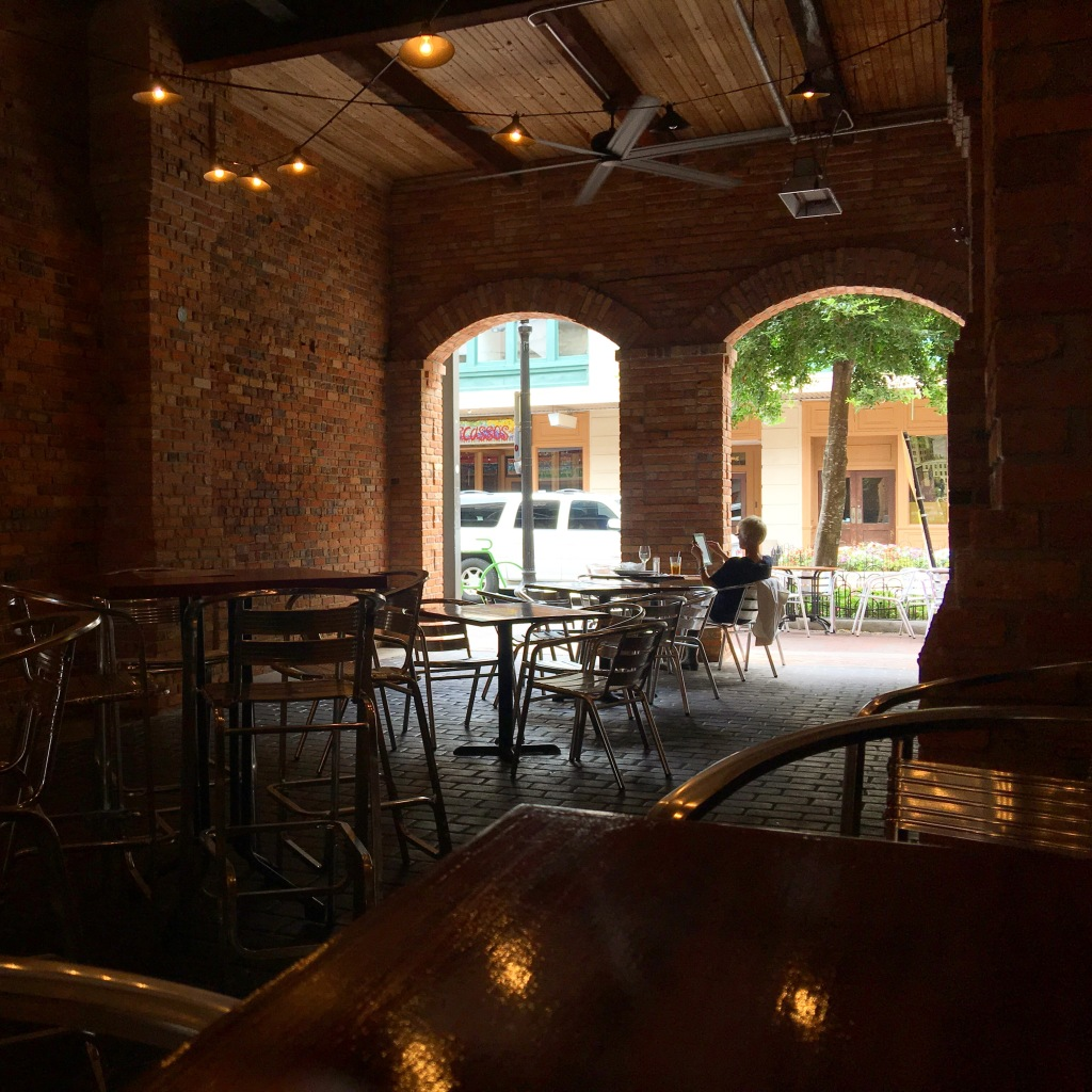 The Patio at the Wine Bar on Palafox.