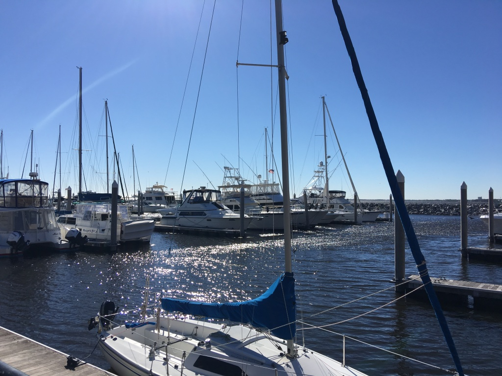 The Yacht Club in Downtown Pensacola near Jaco's Bayfront Bar & Grille